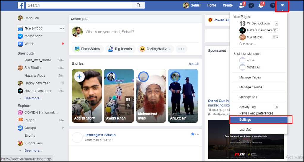 How to Download Your Facebook Data 2020