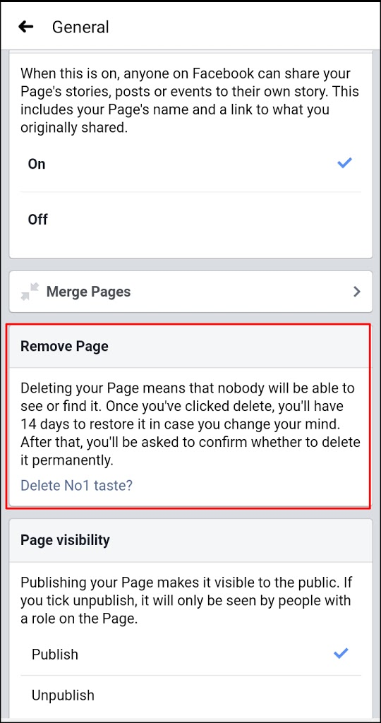 how to delete a Facebook page in 2020