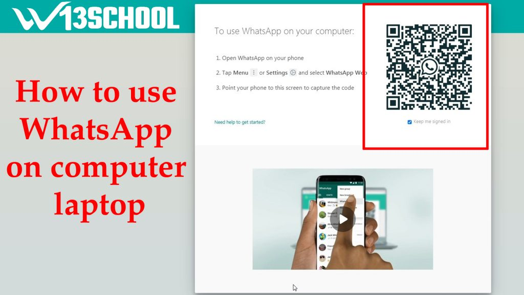 How to use WhatsApp on computer laptop
