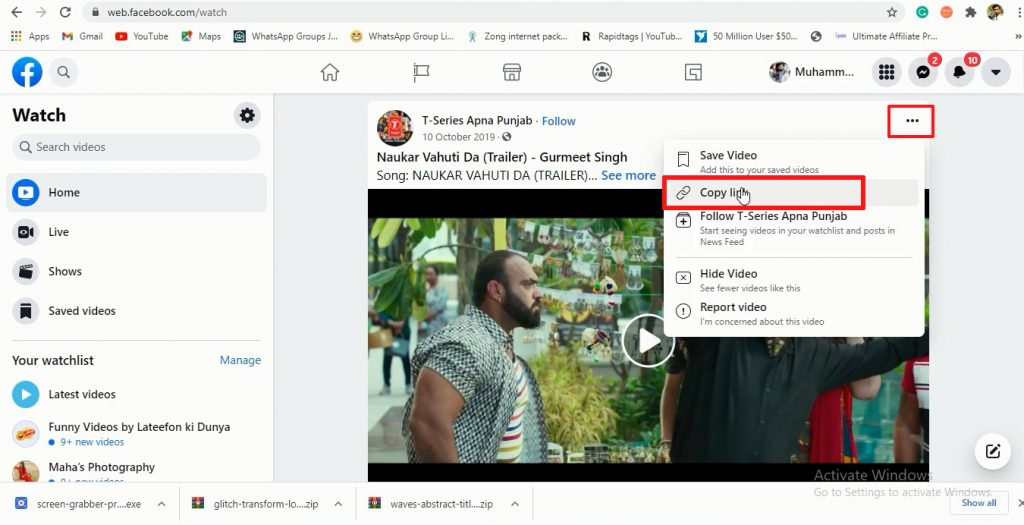 How to download videos from Facebook